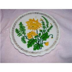Imperial Chop Plate Greek Key  10.5?  #2378375