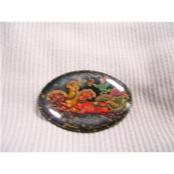 Russian Lacquer Miniture Art  #2378385