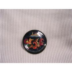 Russian Miniture Art  Black Lacquer  Paper #2378392
