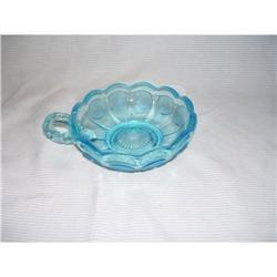 Fostoria Blue Coin Glass Candy Dish #2378407