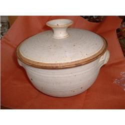 Covered Pottery Bowl #2378448