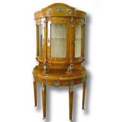 FRENCH EMPIRE STYLE VITRINE  (Curio Cabinet) #2392515