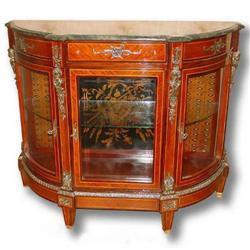LOUIS XVI STYLE BAHUT / VITRINE (Curio Cabinet)#2392517