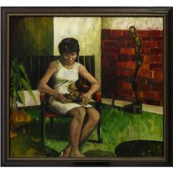 Sister Mary Krista Huhn Contemplation painting #2392538