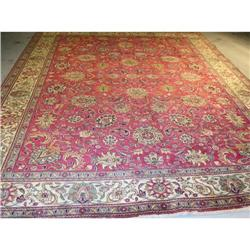 persian rug, 100% wool ,Tabriz #2392554