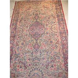 persian rug, 100% wool , kerman #2392555