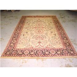 serene, 100% wool, made in india, sarouk, #2392556