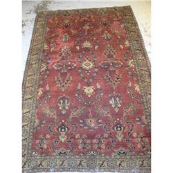 persian rug, 100% wool , Sarouk #2392557