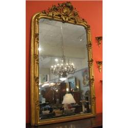 Louis XV Style Gold Leafed Mirror #2392632