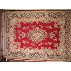 "13'4"" x 9'7"" Kerman Persian Oriental Rug #2392657"
