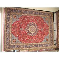"""13 X 9'5"""" Mashad Persian Oriental Rug #2392660"""