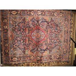 """10'8""""x7'10"""" Classic Kashmar Persian Oriental #2392662"""