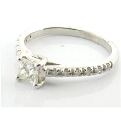 Contemporary 0.54ct Diamond in 14k Engagement #2392747