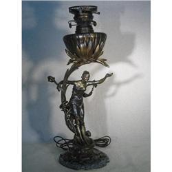 ART NOUVEAU LAMP #2392779