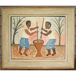 Haitian Painting by Hector Hyppolite #2392796