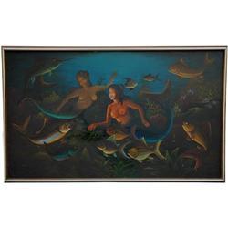 Haitian Painting by  St. Louis Blaise, ca. #2392800