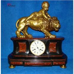 Exclusive and Unique Bronze Mantel Clock !! #2392803