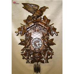 Spectacular Huge Black Forest Cuckoo Clock !! #2392804