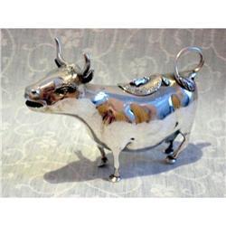 German sterling silver cow creamer Germany ca #2392863