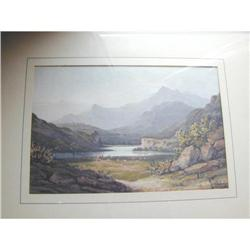 North Wales Watercolour Painting by Jon Varley #2393076