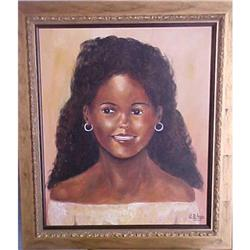 Haitian Painting in acrylic by Clarel Blain #2393099
