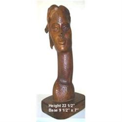 Haitian wood Sculpture by George Laratte #2393108