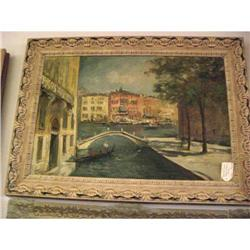 Vintage Venice Painting - signed #2393114