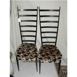 Pair of Gio Ponti Ladderback Chairs #2393116
