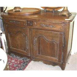 Rustic Oak Buffet #2393120