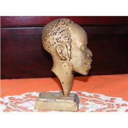 Antique Metal Statue-Sculpture Judaica #2393129