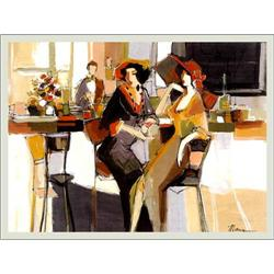 Isaac Maimon, Cordials, Serigraph on Canvas #2393131