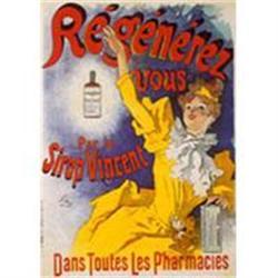 Original Cheret Poster, Sirop Vincent #2393136