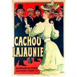 Original Rare Lithograph, Cachou LaJaunie c1905#2393138
