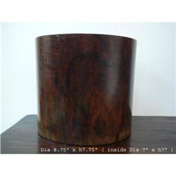 Chinese Natural Huanghuali Brush Pot  #2393147
