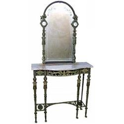Console Table Mirror French Empire Pier Table #2393370