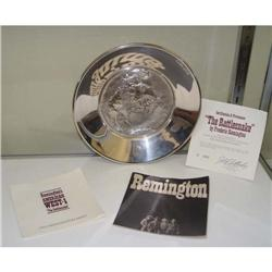 Sterling Silver Remington Rattlesnake Charger #2393374