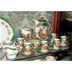 Old Vienna porcelain coffee  service    #2393431