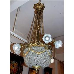 Big French Empire Chandelier 9 L  #2393433
