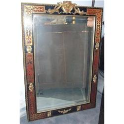 Louis XV French Boulle Beveled Mirror  #2393434