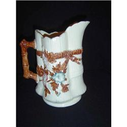 Antique Majolica Pitcher #2393441