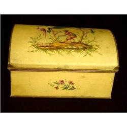 Antique Tole Painted Box #2393443