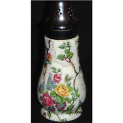 Antique English Chintz Sugar Shaker #2393447