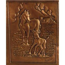 Copper Horse signed #2399855