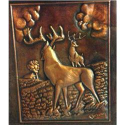 Copper picture Elk #2399856