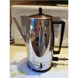 Fostoria Coffee Pot Percolator Bersted Mfg. #2359859