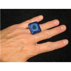 Higgins Art Glass Ring #2359875