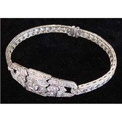 Platinum & Diamond Bracelet #2359883