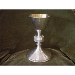 French Sterling Silver Chalice #2359891