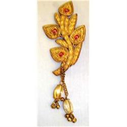 Vintage Wrapped Wire Embroidery Pin #2359922