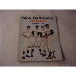 Yearbook, Baltimore Orioles  1966 #2359932